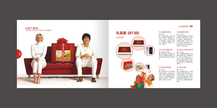 食品宣传册设计