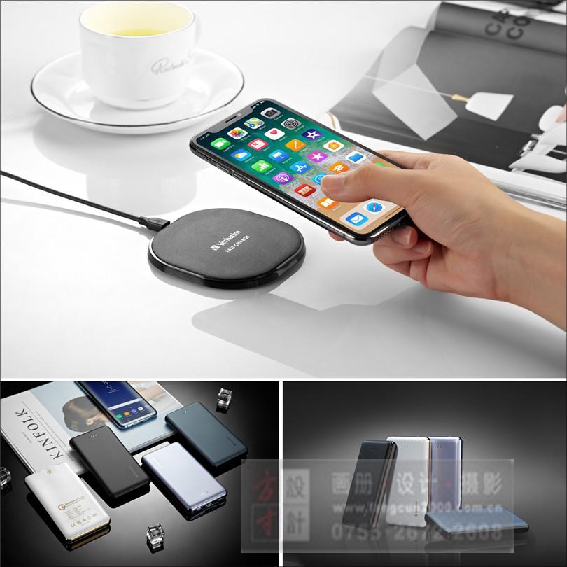 无线充产品拍照